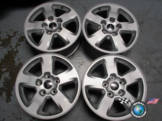 2011 12 Jeep Grand Cherokee Factory 17 Wheels Rims OEM 9104 1HX64TRMAB