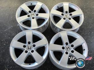 Four 06 11 Honda Civic Factory 16 Wheels Rims 63899 SNA665B