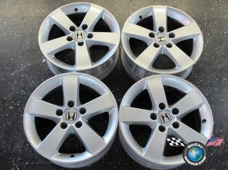 Four 06 11 Honda Civic Factory 16 Wheels Rims 63899 SNA665B