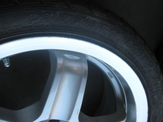 16 Corolla Celica ES250 Scion Tires Wheels Rims Prime USA Made 4