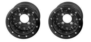 Hiper CF1 Rear 9 Beadlock Wheels Rims Honda 450ER 450R 400EX 300EX 4