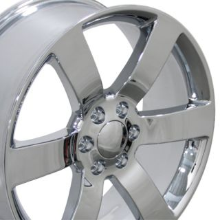 Trailblazer SS Wheels Chrome 20x8.5 Rims Fit Chevrolet GMC Cadillac