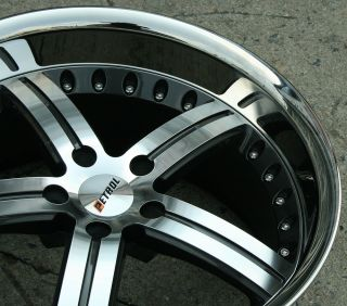 Petrol Throttle 19 Gunmetal Rims Wheels 350Z Coupe 19 x 8 0 9 5 5H 20