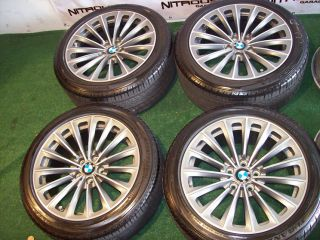19 BMW OEM Factory 7 Series Wheels 740 750 760 F01 F02 Tires Package