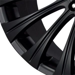 New 17x8 5x114 3 Drag Dr 43 Black Wheels Rims