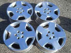 Polished Alloy Wheel Rim Set for Impala Monte Carlo