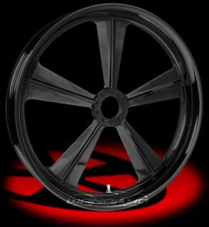 Colorado Custom Wheel Black Front Cancun 21 x 3 5 Harley 00 12 FLHR