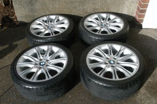 BMW E46 18 ZHP Wheels M Double Spoke Style 135 Staggered Tires 330