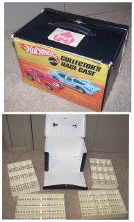 Vintage 1969 Hot Wheels Redline 48 Car Case Excellent Shape