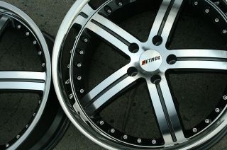 Throttle 19 Gunmetal Rims Wheels 350Z Coupe 19 x 8 0 9 5 5H 20
