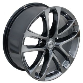 Altima Black Chrome Wheels Set of 4 62521 Rims Infiniti I30 I35