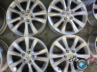 Four 10 11 lexus ES350 Factory 17 Wheels OEM Rims 74224 Camry Avalon