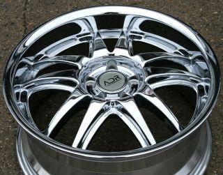 Adr Decadence 18 Chrome Rims Wheels Benz CLK320 CLK430 18 x 8 0 5H 35