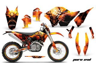 GRAPHICS KIT SX SXF 07 10, EXC XCF 08 10 11, XCW 08 10 11 DECALS PENPR