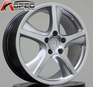 20x9 Silver Porsche Cayenne Base GTS Turbo s Wheel 50