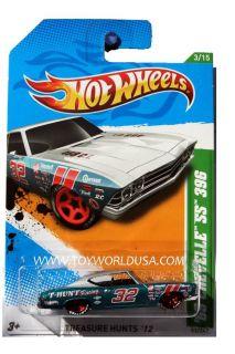 2012 Hot Wheels Treasure Hunt 53 1969 Chevrolet Chevelle SS 396