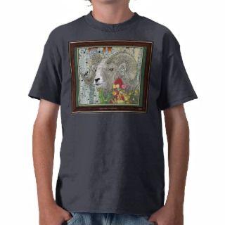 Bighorn Sheep Ram T Shirt