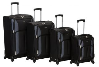 , 30 inch 4 pc. spinner luggage set. Multi directional spinner wheels