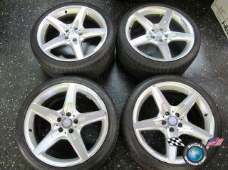 2013 MBZ SL550 Factory AMG 19 Wheels Tires OEM Rims CLS550 SL63 E550