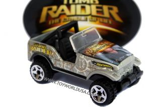 Hot Wheels Lara Croft Tomb Raider Jeep Trailbuster