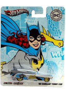 2012 Hot Wheels DC Comics Originals 1959 Cadillac Funny Car Batgirl