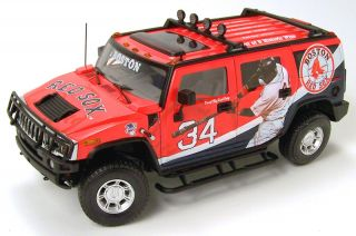 Highway 61 Boston Red Sox Diecast Hummer 1 18 D Ortiz