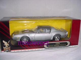 Road Signature 1979 Pontiac Firebird Trans Am 1 18 Silver