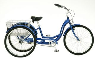 Schwinn 26 Meridian 3 Wheel Tricycle Bike Bicycle S4001KM