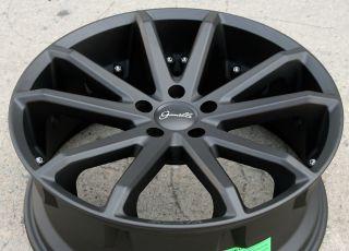 Spidero 5 20 Black Rims Wheels Acura TL TSX 20 x 8 0 5H 38