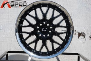 LINE G901 WHEEL 4X100 +38 BLACK MACHINE RIM FITS CIVIC SI FIT INTEGRA