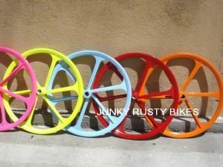 Mag Front Fixed Gear Fixie Trick Wheel Alloy Bike Bicycle Rim