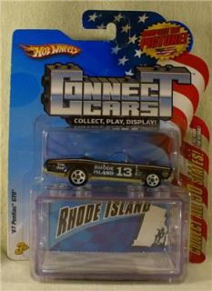 Hot Wheels Connect Cars Rhode Island 67 Pontiac GTO Car. #13 of 50