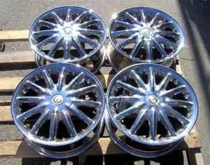 01 03 Chrysler Sebring 16x6 5 12 Spoke Wheel Rims