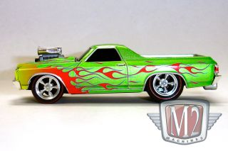 M2 Ground Pounders Nytf 2012 1970 Chevrolet El Camino Gold Flames 1