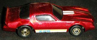 Hot Wheels Metallic Red Camaro Z 28 Car Mattel 1982 Vintage Die Cast