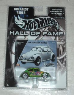Mattel Hot Wheels 2002 Hall of Fame Series Volkswagen Beetle Diecast
