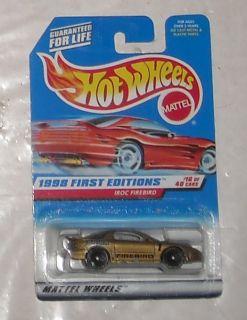 1998 Mattel Hot Wheels First Editions Series IROC Firebird Diecast