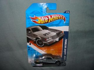 2011 hotwheels Hot Wheels BUICK GRAND NATIONAL #139 New GRAY★2012