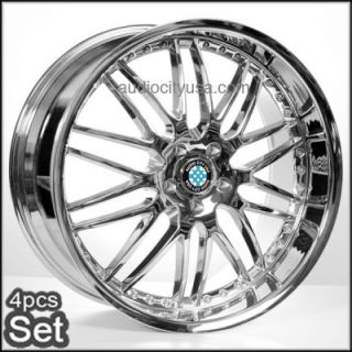 M46 Chrome Wheels for BMW 3 5 6 7SERIES M3 M5 M6 x3 x5 x6 Rims