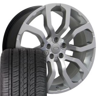 22 Hyper Silver Wheel Rim Fits Range Land Rover HSE Sport LR3 LR4