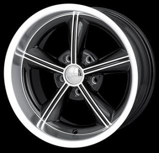 16x8 Black Wheel Alloy ion Style 625 5x4 75 Chevy Rim