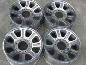05 10 Ford F250 SD 18 King Ranch Wheels 18x8 LKQ