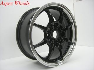 Rota Circuit 8 16x7 4x100 4x114 3 Royal Black Wheels