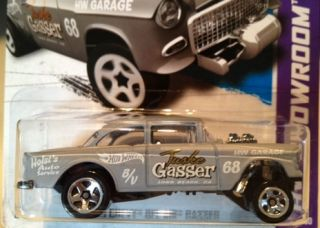 2013 Hot Wheels HW Showroom 55 Chevy Bel Air Gasser