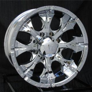 16 inch Chrome Wheels Rims Chevy HD Dodge RAM 8 Lug