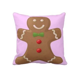 Gingerbread man American MoJo Pillow