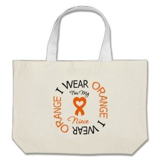 Heart Ribbon Multiple Sclerosis Awareness Bags, Messenger Bags, Tote