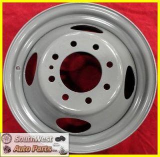 88 89 90 91 02 Chevy 3500 Van GMC 3500 Van DRW 16 Steel Wheel Used