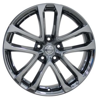 Altima Black Chrome Wheels Set of 4 62521 Rims Infiniti I30 I35