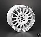 RETRACK WHITE RIMS WHEELS TIRES FIT CIVIC INTEGRA XB FALKEN 205/45/16